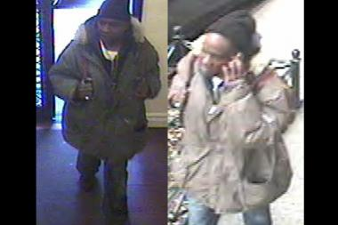 Police released images of a man suspected in a burglary on East 11th Street.