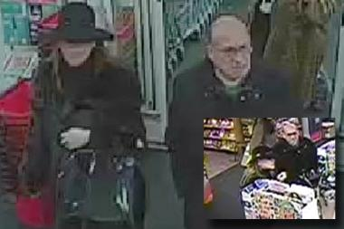 A man and woman shopped at CVS with credit cards stolen from the Village Tavern on Dec. 5, 2013, police said.