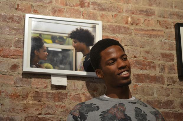 Franklin Ave.'s Nimba Cafe features 17-year-old Nahshon Outten's portraits of Brooklyn teens.