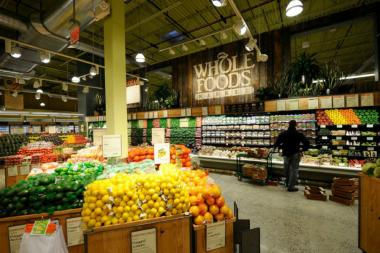 A Whole Foods employee confronted Lupu after watching him take groceries from displays.