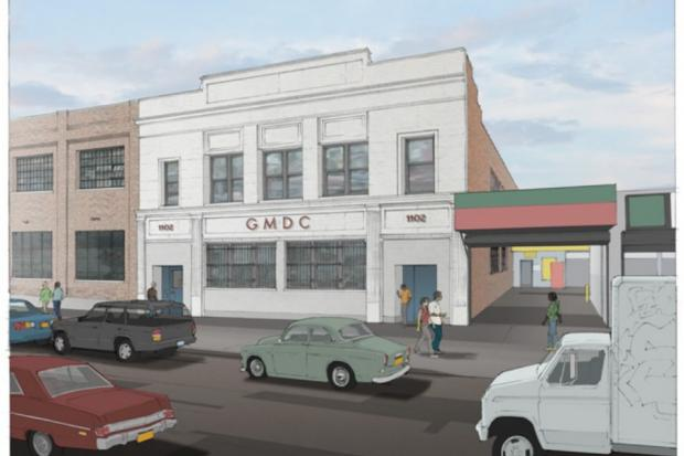 Developers expect to finish renovations on 14 new micro-manufacturing spaces Atlantic Avenue Industrial Center at 1102 Atlantic Avenue in Crown Heights by December of 2014.
