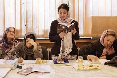 Participants in the Afghan Women's Writing Project will read a selection of their poems, essays and stories.