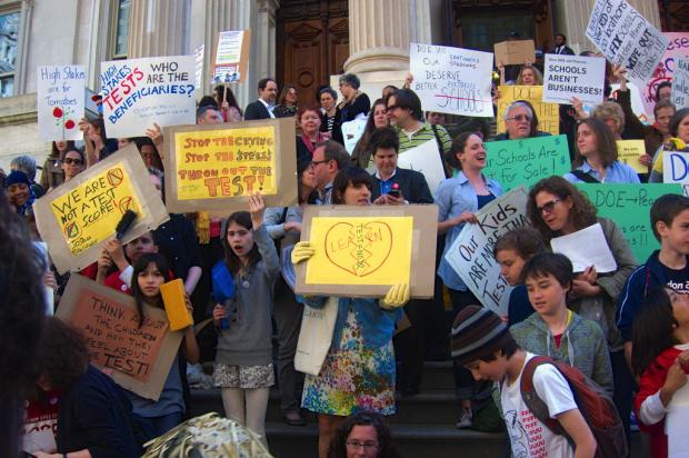 Park Slope's P.S. 321 has long been a leader in the movement against high-stakes testing.