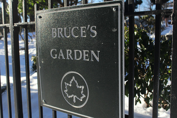 The caretakers of Bruce's Garden say a plan to run a water pipe to Isham Park could destroy the garden.