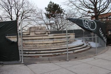 The controversial statue was removed from Queens in 2012.