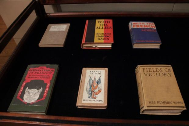 The New York Society exhibit features work by well known authors and everyday witnesses.