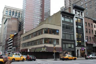 The Kushner Real Estate Group hopes to build a 40-story condo at this spot.