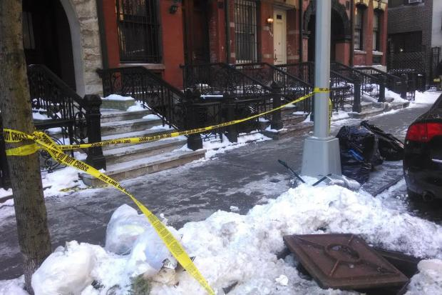 The fires were sparked on East 89th Street Friday morning, a spokesman said.