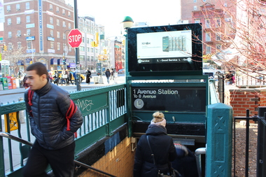 The MTA will begin work on new Avenue A entrances at the First Ave L stop next year, a spokesman said.