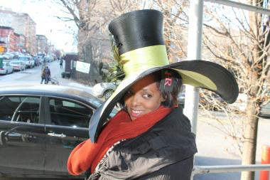 The Great American Hat Show in Harlem is a day-long event organized by milliner Harriet Rosebud that will feature hat making classes for adults and children and hers and other designers' new collections on Saturday, Feb. 8.