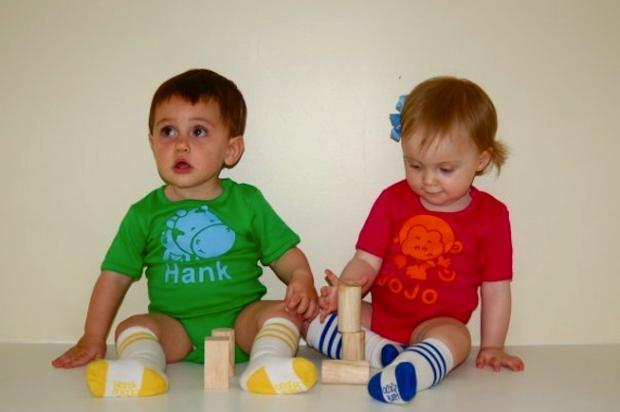 The language classes at Hank & JoJo are for children 9-months-old and up.