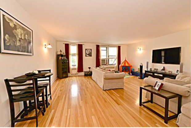 The three bedroom, two-bath apartment in The Monterey is one of a kind.
