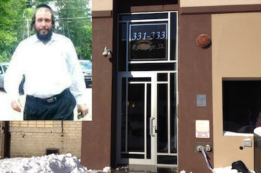 Menachem Stark, 40, was grabbed off the street after leaving his office at 331 Rutledge Street in Williamsburg, according to neighborhood watch group Shomrim.