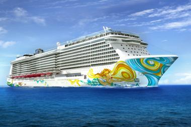 The Norwegian Getaway will become the Bud Light Hotel for the Super Bowl.