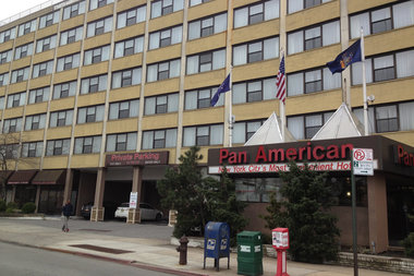 The Pan Am hotel is one of several new shelters in Queens. It sparked controversy when community members said it opened without notice.