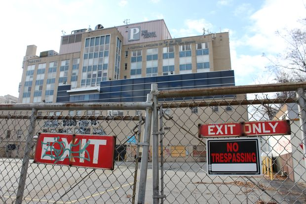 The building has been vacant since 2008.