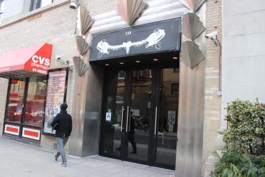 Police said Ivan Osoianu, 25, kicked and broke the glass door entrance to Le Poisson Rouge.