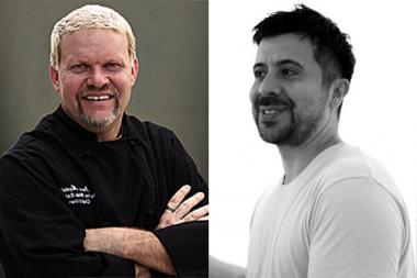 "Former ""Top Chef"" Dave Martin and Queens artist Mark Salinas will host the dinner to benefit scholarships for Queens Council on the Arts' ""High School to Art School"" program."