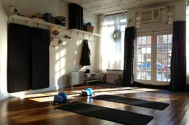 Red Hook Pilates is a Pilates and yoga studio at 414 Van Brunt St.