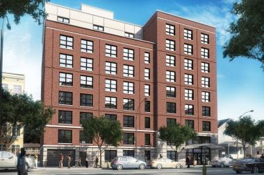New development on 90th Street will provide 46 apartments.