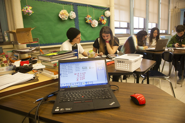 Students increasingly need internet access to do homework.