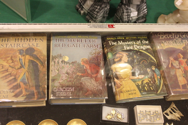 Close to 40 vendors selling antique books, sometimes hundreds of years old, ranging from a dollar to $10,000, set up shop at P.S. 3 in the West Village this weekend for the 35th Annual Greenwich Village Antiquarian Book Fair