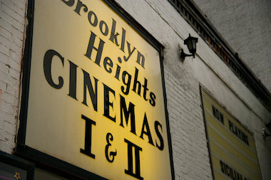 The Brooklyn Heights Cinema located at 70 Henry St. in Brooklyn Heights.
