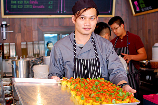 Khao Kang on Woodside Avenue joins a list of other popular Thai restaurants in Elmhurst.