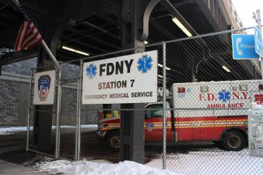 A group of neighbors wants EMS Station 7 to move, saying it creates noxious fumes and too much noise.