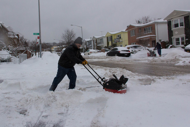 Residents said the streets were left unplowed and dangerous by the city, making it near impossible to get to work and school, after the storm.