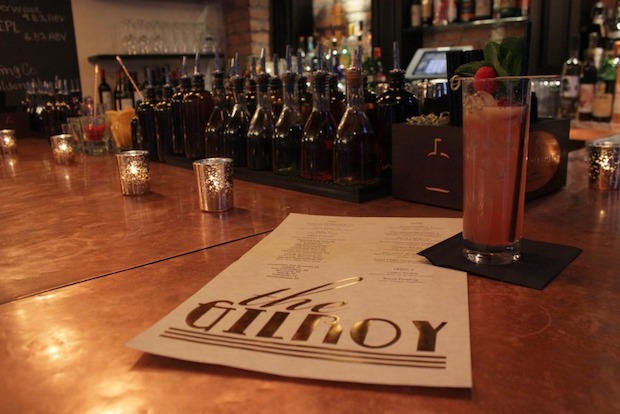 The Gilroy is the newest addition to a small but growing cocktail scene in the neighborhood.