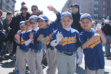 The Inwood Little League parade will kick off the season this weekend.