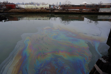 A massive oil spill was found in 1978, when Coast Guard patrolmen noticed a plume of oil in Newtown Creek, at the end of Meeker Avenue. Environmental grants from a New York State settlement with ExxonMobil are now being awarded.