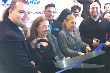 Urban Health Plan, Inc. celebrated the opening of the Health Information Place on Jan. 24 with a ribbon-cutting ceremony.