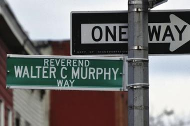 A street corner in Fort Greene was named after Monsignor Walter C. Murphy despite Community Board 2's requirement that street naming candidates be deceased three years.