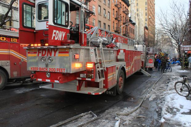 Firefighters responded to a fire at 146 W. 4th Street Tuesday afternoon.