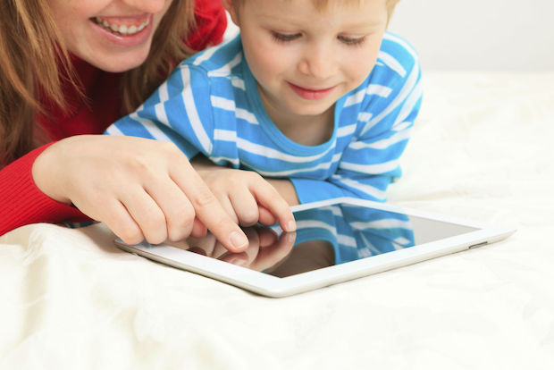 Get your kids away from the TV and into apps that help them develop math and language skills.