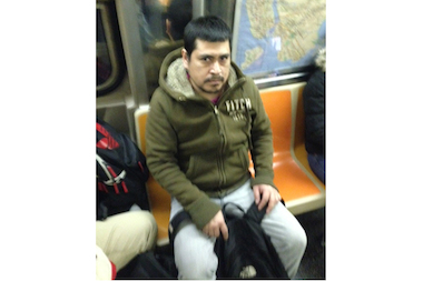 Police are looking for a man they say groped a woman at the 170th Street B-D station in The Bronx on Feb. 24, 2014.