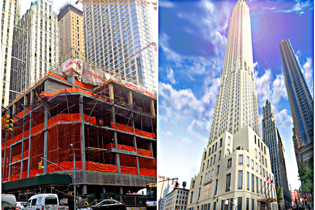 Dozens of construction projects will transform Lower Manhattan over the next four years.