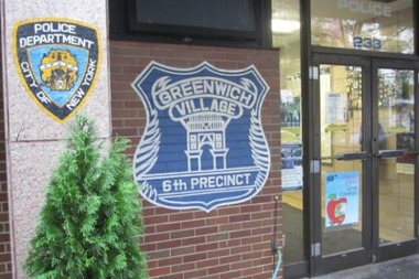 A man arrested for trying to trade in a fake check hid it in his butt while he was being strip-searched at the 6th Precinct, police said.