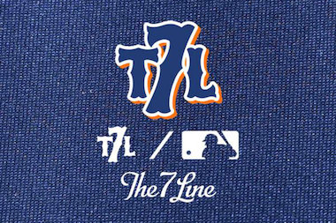 The 7 Line — by the fans and for the fans — is now officially licensed by the MLB.