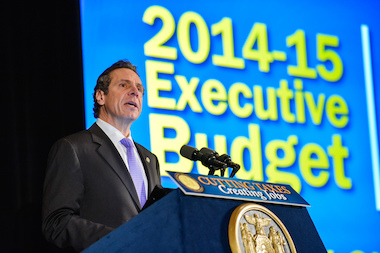 Gov. Andrew Cuomo will be sworn in to his second term Wednesday.