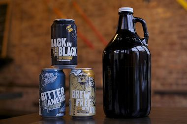 Queens beer bar Snowdonia is now offering growlers of its draft beers and canned brews for home delivery.