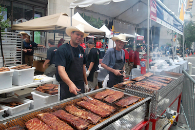 The 12th Annual Big Apple Barbecue is gearing up for a two-day meat fest in June.