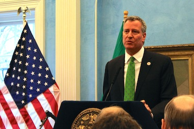 Mayor Bill de Blasio should renew the contracts of the teachers, nurses and college professors unions first, labor leaders say.