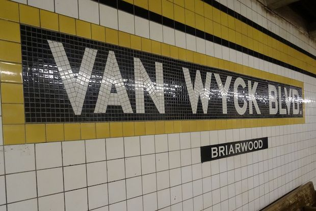 The name of the Briarwood-Van Wyck Boulevard station may soon be changed.