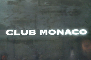 Young thieves swiped $1,600 worth of accessories from Club Monaco on Columbus Avenue.