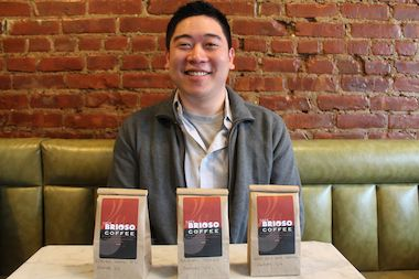Dennis Lee of Astoria Coffee, who will be opening up a coffee shop at 30th Street and 30th Avenue this summer.