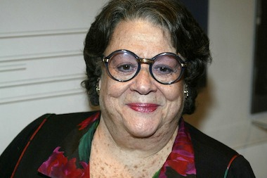 Elaine Kaufman at the Film Society of Lincoln Center's 2004 Gala Tribute.