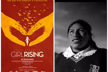 """Girl Rising"" is a documentary that follows the lives of young girls around the world and the challenges they face. The documentary is billed as a ""global campaign for girls' education."""